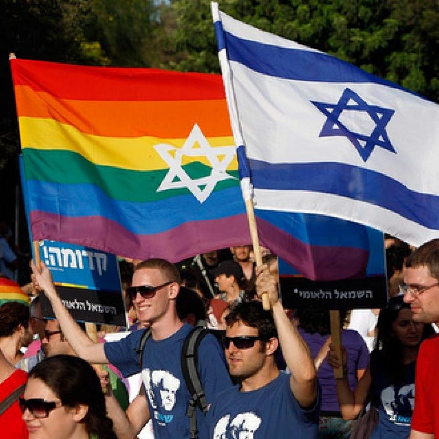 Гей парад в израиле